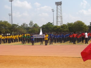 Annual Sports Day - March Past