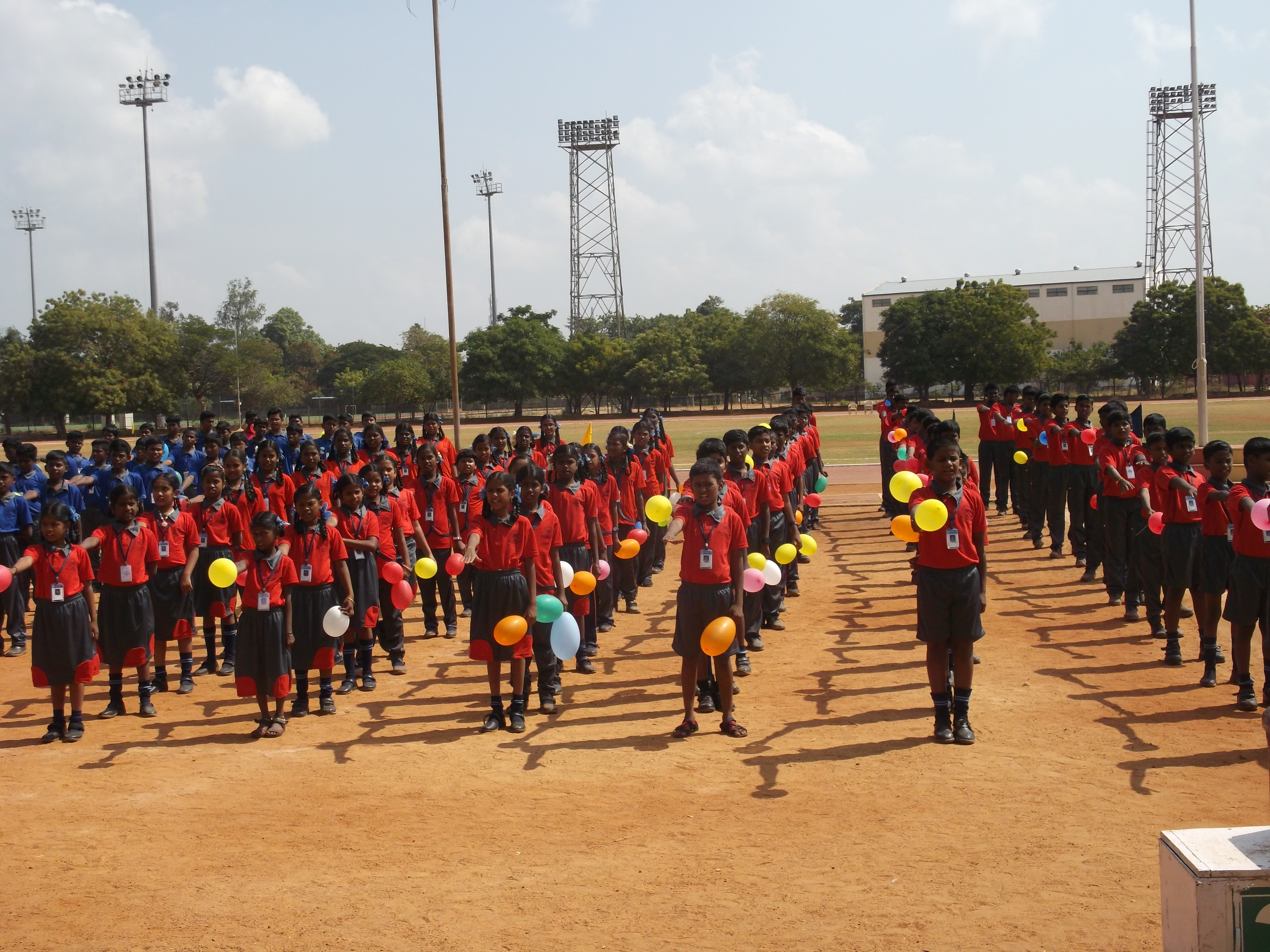 Annual Sports Day - Drill Event
